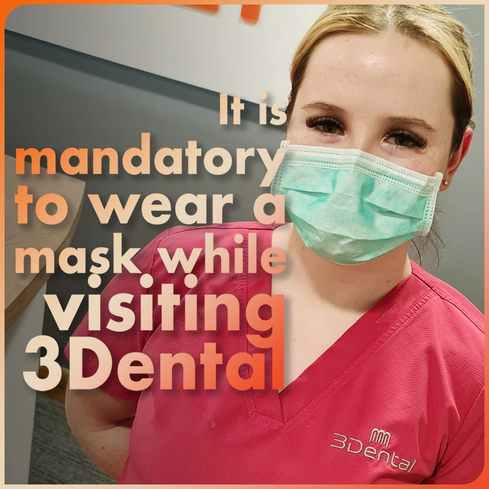 face mask at 3Dental
