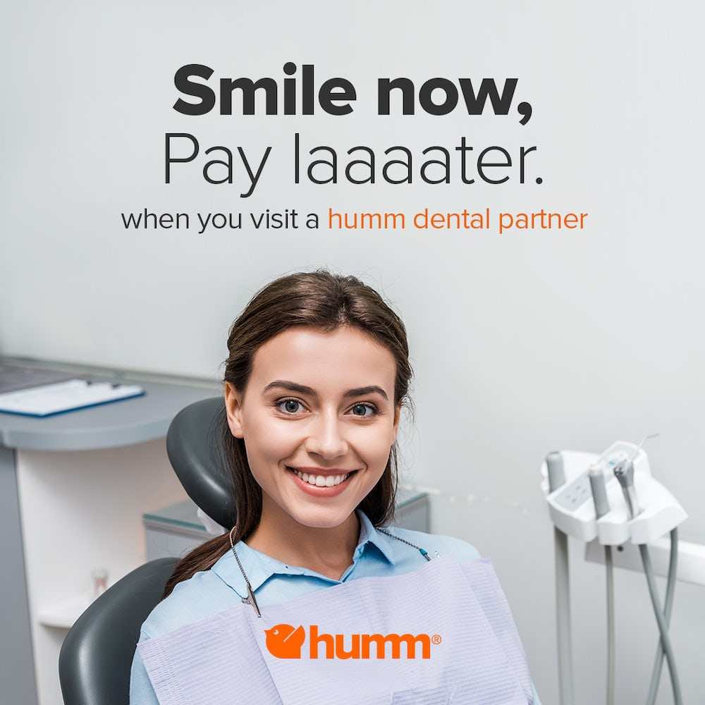 humm - smile now, pay later - 3dental