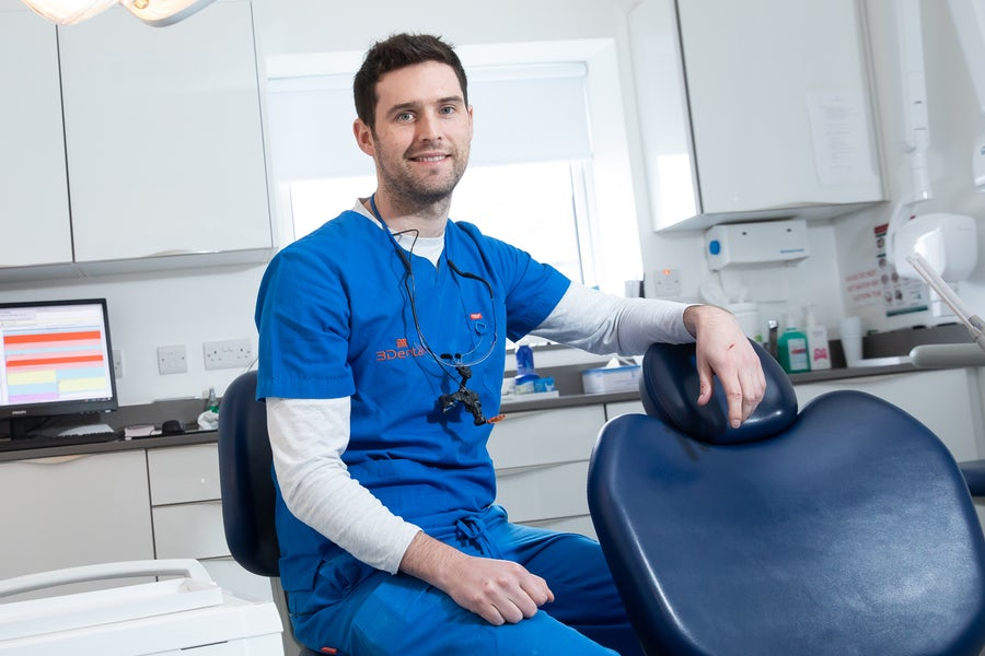 root canal treatment dentist - Dr. Fearghal O'Connell