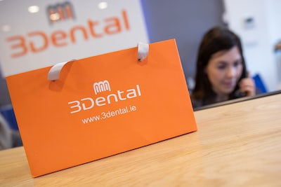 3Dental Limerick - parcel on reception